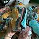 10 Đôi Tất Vớ Trơn Cổ Ngắn Thêu Hoa Cúc Giao Màu Ngẫu Nhiên
