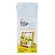 Thùng Sữa Tươi Tiệt Trùng Topkid Vanilla Organic (180ml x 48 hộp)