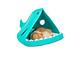 Nệm - Nhà - Ổ - Lều Cá Mập Độc Đáo Cho Chó Mèo (Giao Màu Ngẫu Nhiên)