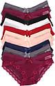 Combo 10 Quần lót nữ, quần lót ren lưới cạp chéo sexy - ZQ5779 (Màu ngẫu nhiên)