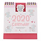 Lịch Để Bàn 2020 (15 x 16cm) - Hình Voi