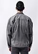 Áo denim jeaket nam màu Xám chất denim 100% cotton hàng xuất xịn của thời trang nam Routine