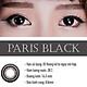 [Một miếng] Kính Áp Tròng Dùng 3 Tháng Eye Secret KM3T - Paris Black