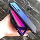 Ốp lưng dùng cho Xiaomi Redmi Note 8 gương cứng 2 màu Gradient Ver 2 , viền TPU dẻo đen