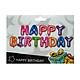 Bong bóng sinh nhật chữ Happy Birthday màu neon