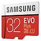 Thẻ Nhớ Micro SD Samsung Evo Plus 32GB Class 10 - 95MB/s (Kèm Adapter) - Hàng Nhập Khẩu