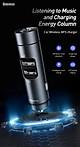 Tẩu sạc xe hơi BASEUS BS-01 Dual USB Bluetooth Car Charger Wireless MP3 Player - Hàng chính hãng
