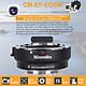 Khớp Nối Ống Kính Máy Ảnh Tự Động Lấy Nét Điện Tử Commlite cm-Ef-Eosm Cho Máy Ảnh Canon Lens EF/EF-S, Canon Eos M1 M2 M3 M5 M6 M10 Đen