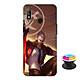 Ốp lưng nhựa dẻo dành cho Realme 3 in hình Murad M-TP Thần Tượng Học Đường - Tặng Popsocket in logo iCase - Hàng Chính Hãng