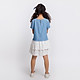 Áo đầm bé gái Feminine contrast lace - DGSPR19D11