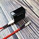 Bộ sạc iphone sạc nhanh Hoco C15 và cáp U48 dây dù dẹp siêu bền - hàng chính hãng