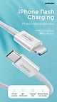 Cáp Sạc Nhanh USB-C to Lightning Chuẩn MFI Hỗ Trợ Sạc Nhanh Power Delivery Cho iPhone, iPad Joyroom S-M421 2M - Hàng Chính Hãng
