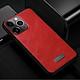 Ốp Lưng Da SULADA Viền silicon cho iPhone 11 - Hàng Chính Hãng
