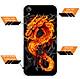 Ốp lưng dẻo cho điện thoại Vivo Y91C - 0218 FIREDRAGON - Hàng Chính Hãng