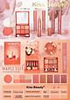 Full Set Trang Điểm Kiss Beauty Maple Suite 7 Sản Phẩm: 5 Thỏi Son + 1 Bảng Phấn Mắt 6 Ô + 1 Phấn Má
