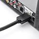 Cáp chuyển đổi HDMI đực sang DVI-I (24+5) cái dài 20Cm UGREEN 20136 (màu đen) - Hàng chính hãng