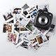 Hộp Film Cho Máy Ảnh Fujifilm Instax SQUARE SQ6 SQ10 Cho Instax SP-3 - Trắng (10 Tờ)
