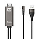 Cáp HDMI Iphone/Ipad Lightning Hoco UA14 -Tặng Dây Cuốn Cáp-Chính Hãng