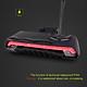 Đèn LED Xi Nhan Không Dây Gắn Đuôi Xe Đạp Điều Khiển Từ xa Sạc USB Meilan X5 Đen