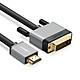 Cáp chuyển đổi HDMI Sang DVI-D (24+1) dài 8M UGREEN HD128 20890 - Hàng chính hãng