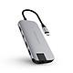 Cổng chuyển Hyperdrive Slim 8 in 1 USB-C Hub dành cho Macbook, PC và Devices - Hàng Chính Hãng