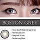[Một miếng] Kính Áp Tròng Dùng 6 Tháng Eye Secret KM6T - Boston Grey