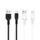 Cáp sạc nhanh Hoco (Micro USB) sạc nhanh 2A MAX, dây sạc được làm từ chất liệu ABS, TPE siêu bền, dành cho Samsung, Huawei, Xiaomi, Oppo, Sony, X20 - Hàng chính hãng