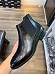 Giày Nam Chelsea Boot Cao Cổ Cao Câp UDANY - GCN08 - Da Bò Thật Trơn Xịn Không Nhăn Màu Đen