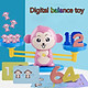 Gobestart Monkey Balance Game Scale Early Learning Weight Child Kids Intelligence Toys