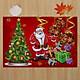 Gobestart Merry Christmas Welcome Doormats Indoor Home Carpets Decor 40x60CM