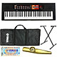Trọn Bộ Đàn Organ Yamaha PSR - F51 - Keyboard PSR- F51 chính hãng kèm Chân , Bao, Nguồn, Giá Sách - Tặng Kèn Kazoo đồng thanh cao cấp TONY