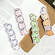 Hộp 30 Bookmark Đánh Dấu Sách Thế Giới Cuộn Tròn Nhật Bản