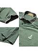 Bộ 2 áo thun nam Polo cổ phối bo dệt đẹp chuẩn Xmen PIGO cao cấp AHT08 (vịt, rêu)