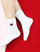 Combo 5 đôi tất nữ trái tim chất dày dặn