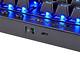 Bàn Phím Cơ Không Dây Corsair K63 LED Blue Cherry MX Red Switch Tenkeyless - Hàng Chính Hãng