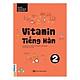 Combo Vitamin tiếng Hàn cho người mới bắt đầu tự học kèm App di dộng và Web ( Vitamin tiếng Hàn 1, 2, 3 + tặng kèm 3000 Từ vựng tiếng hàn theo chủ đề)