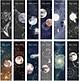 Hộp 30 Bookmark Đánh Dấu Sách Du Hành Không Gian Space Roaming MR-BM002-072
