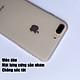 Ốp lưng viền dẻo trắng sần nhám cao cấp dành cho iPhone 7 Plus vs iPhone 8 Plus