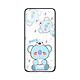 Ốp lưng KÍNH CƯỜNG LỰC VIỀN ĐEN cho iPhone X KPOP_BTS_KOYA - Hàng chính hãng