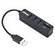Bộ Chia Hub USB 3 Cổng Kèm 2 Khe Đọc Thẻ Nhớ Micro và SD