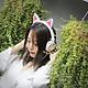 Tai Nghe Mèo Đèn Led Phát Sáng Có Thể Gập Lại Nhấp Nháy Glowing - Hàng Nhập Khẩu