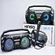 Loa Karaoke Bluetooth Xách Tay KMS1 Tặng Kèm 1 Mic Hát Có Dây Cắm Trực Tiếp, Bass Không Dây, Đèn Led Sống Động