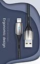Cáp sạc và truyền dữ liệu tốc độ cao Baseus Horizontal Data Lightning cho iPhone/ iPad ( 2.4A, Indicator Lamp, Fast Charing) - Hàng Chính Hãng