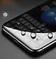 Kính Cường lực 10D Dành Cho IPHONE X Full Keo Màn Hình - Màu Đen