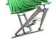 Bộ võng xếp khung inox đế vuông phi 40 lưới dày 1.4kg nẹp cán thép khổ rộng 60 cm TD.
