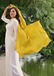 Khăn Choàng Thời Trang SenSilk Vàng 100% Lụa Tơ Tằm - Handmade Silk Gift