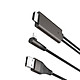 Cáp Chuyển Đổi iPhone iPad Sang HDMI Hoco UA14 + Tặng Đầu Bọc Bảo Vệ Cáp - Chính Hãng