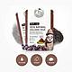 Bộ 10 miếng mặt nạ tro bụi núi lửa JeJu Volcanic Mask Hàn Quốc 10x20g + Móc khóa