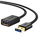 Dây nối dài USB 3.0 mạ vàng Ugreen 10373 (2m) - Hàng Chính Hãng