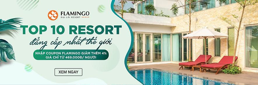 Đặt phòng và vé vui chơi tại Flamingo Đại Lải Resort - Resort đẹp nhất thế giới trên Tiki !